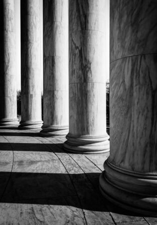 Columns at the Thomas Jefferson Memorial, Washington, DC. photo