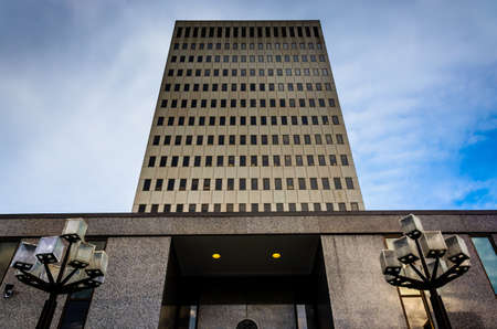 The Fallon Federal Building in Baltimore, Maryland.