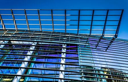 Architectural details at the Pennsylvania Convention Center in Philadelphia, Pennsylvania Editorial