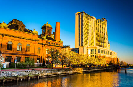 public works: The Marriot Waterfront Hotel and Public Works Museum in Harbor East, Baltimore, Maryland.