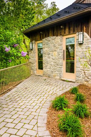 wildwood: The Nature Center at Wildwood Park in Harrisburg, Pennsylvania. Editorial