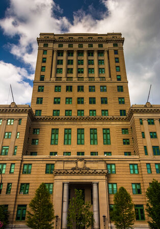 asheville: The Buncombe County Courthouse in Asheville, North Carolina. Stock Photo