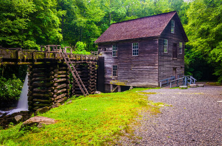 great smoky mountains national park: Mingus Mill, Great Smoky Mountains National Park, North Carolina.