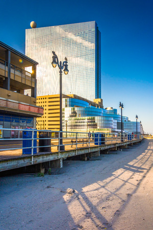 revel: The boardwalk and Revel Casino Hotel, in Atlantic City, New Jersey.
