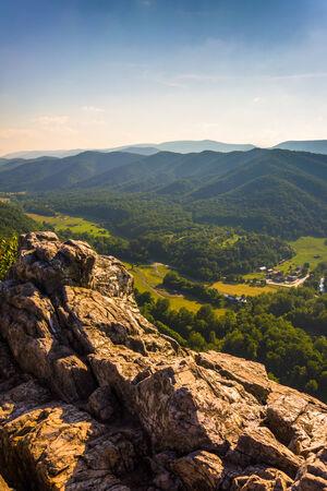 seneca: View from Seneca Rocks, Monongahela National Forest, West Virginia.
