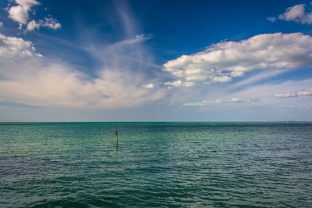 gulf of mexico: The Gulf of Mexico in Clearwater Beach, Florida. Stock Photo