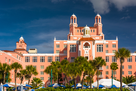 st  pete: The Don Cesar Hotel in St. Pete Beach, Florida.