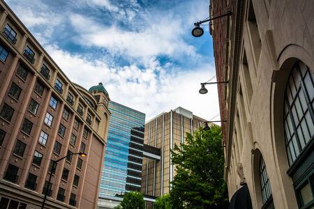 Gebouwen in het centrum van Atlanta, Georgia.