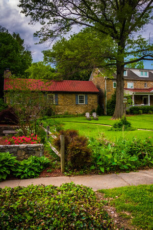 columbia: Beautiful house in Columbia, Maryland. Editorial
