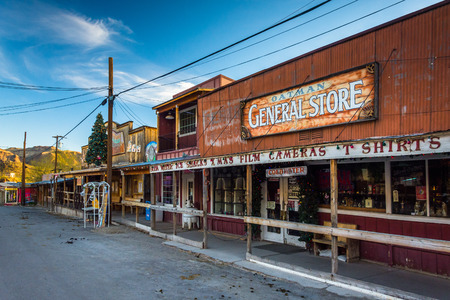 general store: The General Store, along Historic Route 66 in Oatman, Arizona.