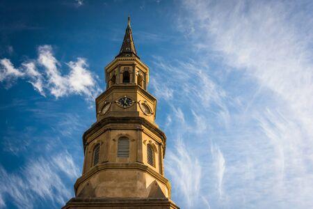 in charleston: Saint Philips Church in Charleston, South Carolina.