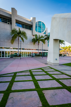 The Convention Center in San Diego, California. Editorial