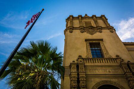City Hall, in Riverside, California. Reklamní fotografie