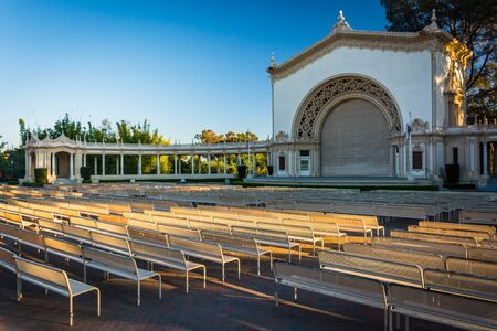 balboa: Spreckels Organ Pavillion, in Balboa Park, San Diego, California. Editorial