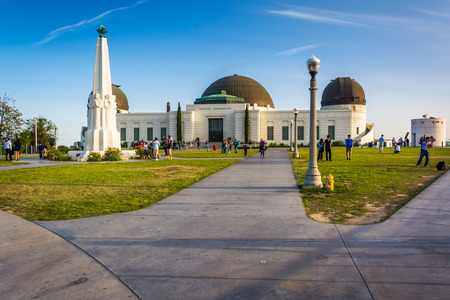 griffith: Griffith Observatory, in Los Angeles, California.
