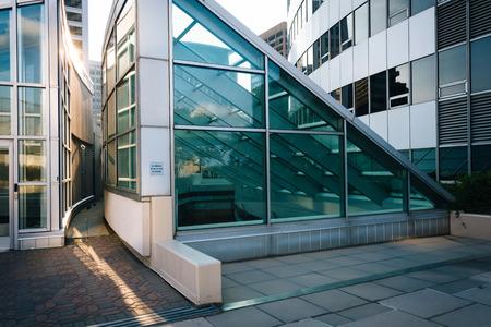rosslyn: Modern buildings in Rosslyn, Arlington, Virginia. Editorial