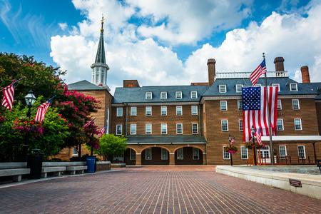 alexandria: Market Square and City Hall, in Alexandria, Virginia.