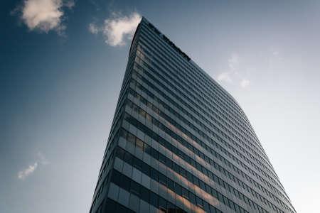 rosslyn: Modern skyscraper in Rosslyn, Arlington, Virginia.