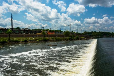 pennsylvania: The Fairmount Water Works in Philadelphia, Pennsylvania.