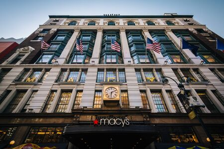macys: Macys at Herald Square in Midtown Manhattan, New York.