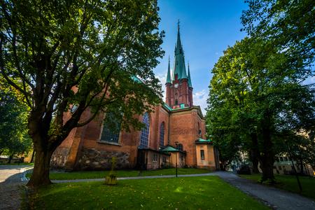 The Church of Saint Clare (Klara Kyrka) in Norrmalm, Stockholm, Sweden.