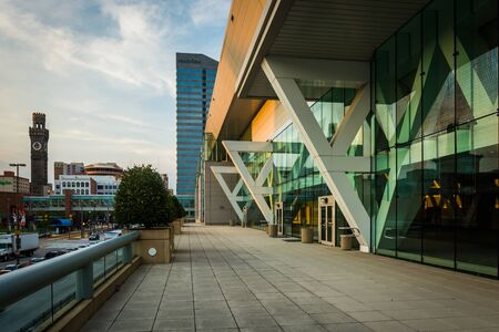 The Convention Center, in downtown Baltimore, Maryland. Editorial