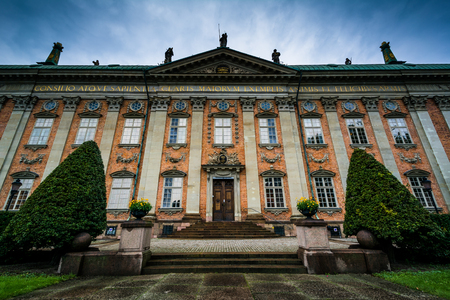 nobility: The House of Nobility, Riddarhuset, in Galma Stan, Stockholm, Sweden. Editorial