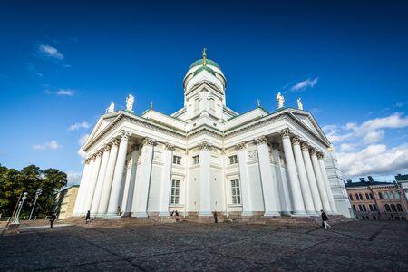 helsinki: The Helsinki Cathedral, in Helsinki, Finland.