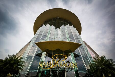 The exterior of Siam Paragon, in Bangkok, Thailand. 新聞圖片