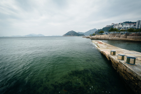 repulse: Pier at Repulse Bay, in Hong Kong, Hong Kong.