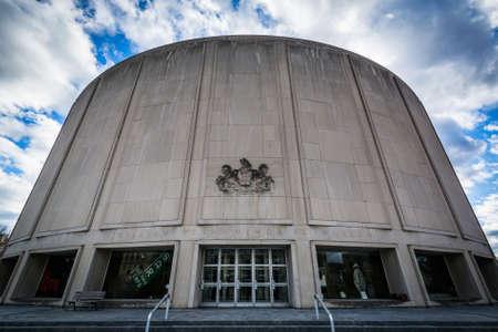 The William Penn Memorial Museum, in downtown Harrisburg, Pennsylvania.