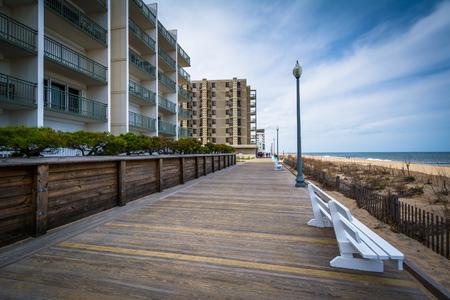 delaware: The boardwalk in Rehoboth Beach, Delaware.