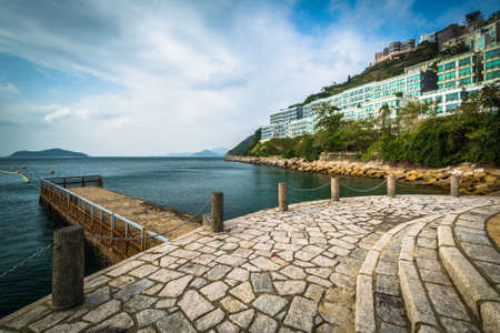 repulse: Pier at Repulse Bay, in Hong Kong