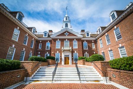 delaware: The Delaware State Capitol Building in Dover, Delaware.