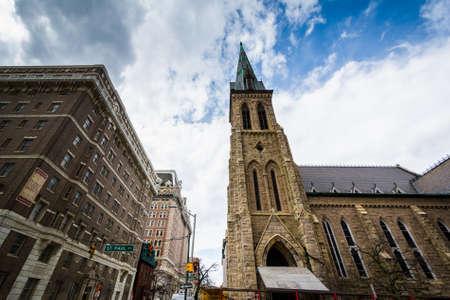 d�livrance: La cath�drale Deliverance New Refuge, � Mount Vernon, Baltimore, Maryland.