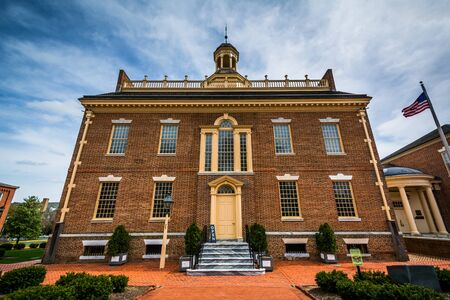 dover: The Old State House in Dover, Delaware. Editorial