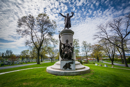 frederick: The Francis Scott Key Burial Site at Mount Olivet Cemetery in Frederick, Maryland.