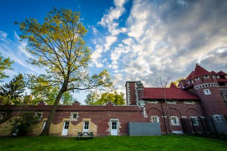 ontario: Historic building in Midtown Toronto, Ontario. Editorial