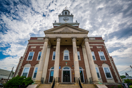 dover: City Hall, in Dover, New Hampshire. Stock Photo