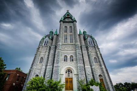 coptic orthodox: St. Mary and Archangel Michael Coptic Orthodox Church in Nashua, New Hampshire.