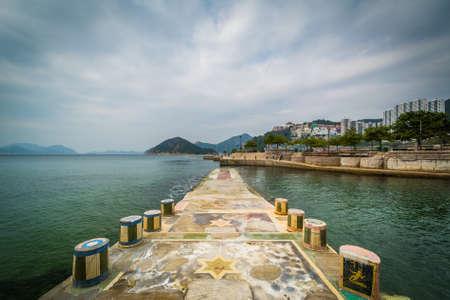 repulse: Pier at Repulse Bay, in Hong Kong