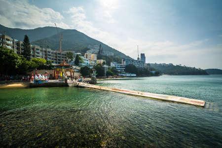 repulse: Repulse Bay, in Hong Kong. Stock Photo