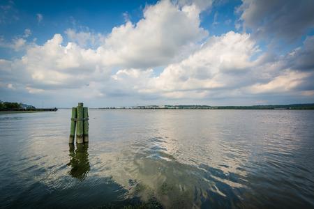 alexandria: The Potomac River, in Alexandria, Virginia.