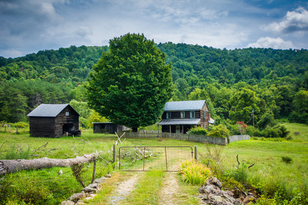 Home in the rural Shenandoah Valley of Virginia.