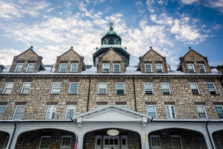 The seminary at Mount Saint Marys University, in Emmitsburg, Maryland. Editorial