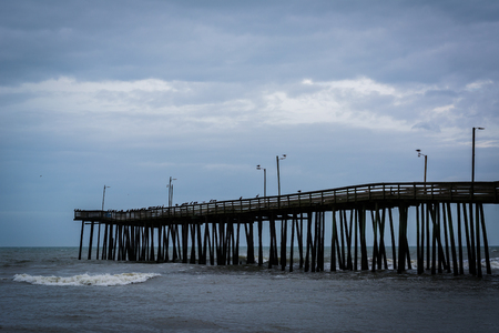 fishing pier: The Fishing Pier in Virginia Beach, Virginia.
