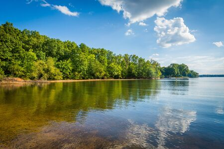 charlotte: Lake Norman, at McCrary Access Area, in Mooresville, North Carolina.