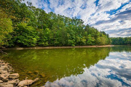 charlotte: Beautiful clouds over Lake Norman, at Lake Norman State Park, North Carolina.