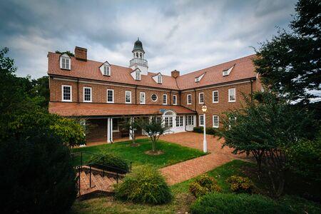 Building at Salem College, in Winston-Salem, North Carolina.