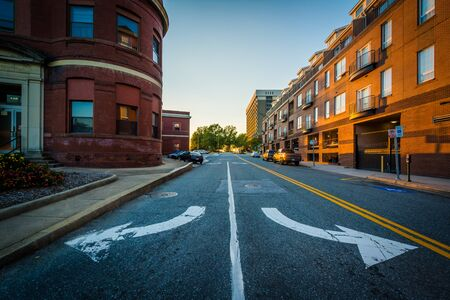 Smothers Place, in downtown Greensboro, North Carolina. Stock Photo